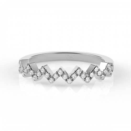 Bague diamant 0.20 carats en or blanc Adelaide